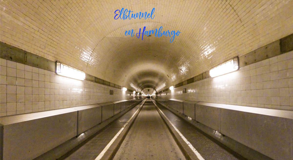 Visitar Elbtunnel en Hamburgo. Cómo llegar y cruzar.