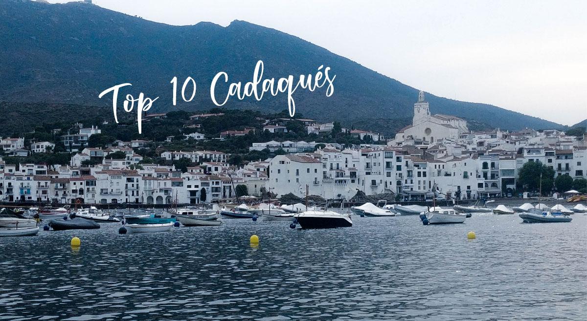 Las mejores 10 cosas que hacer en Cadaqués con mapa incluido