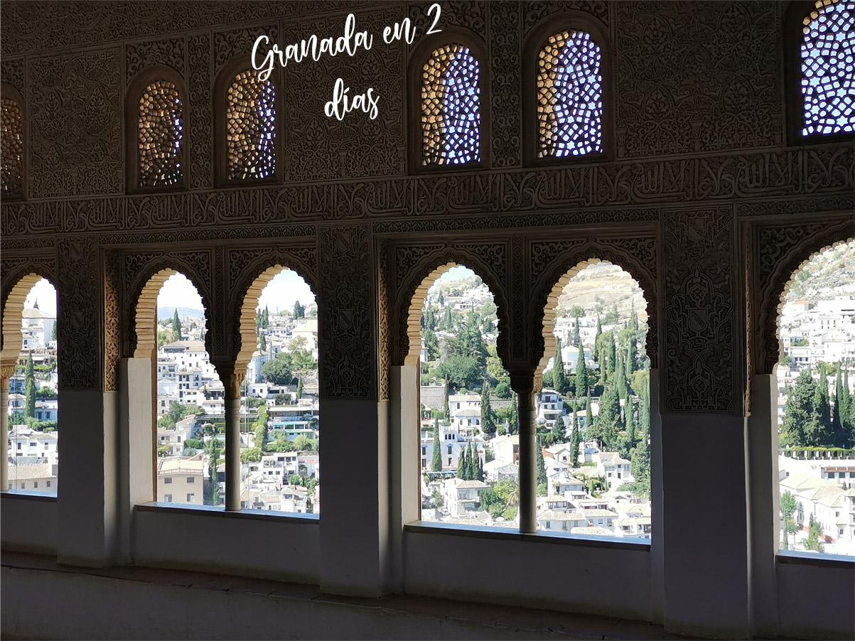 Lo mejor qué ver en Granada en dos días. Rutas, tapeo y alojamiento.