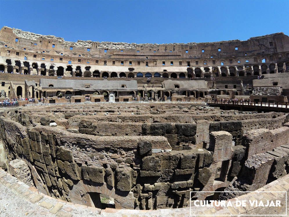 Hipogeo del Coliseo.