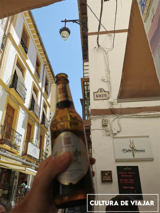 Tapeando en el Fogón de Galicia, calle Navas con Gozo.