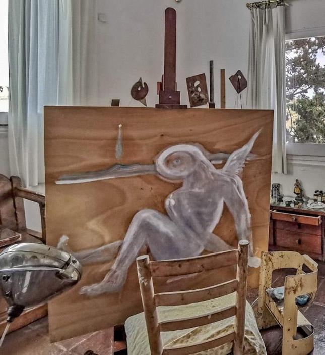 Obra inacabada Salvador Dalí