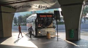 Cómo llegar del aeropuerto de Fiumicino a Roma